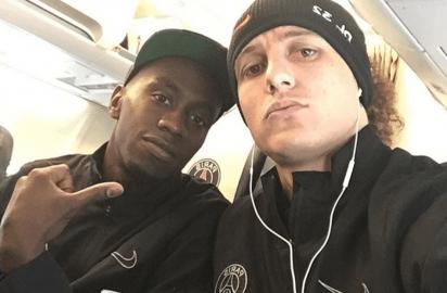 David Luiz et Blaise Matuidi