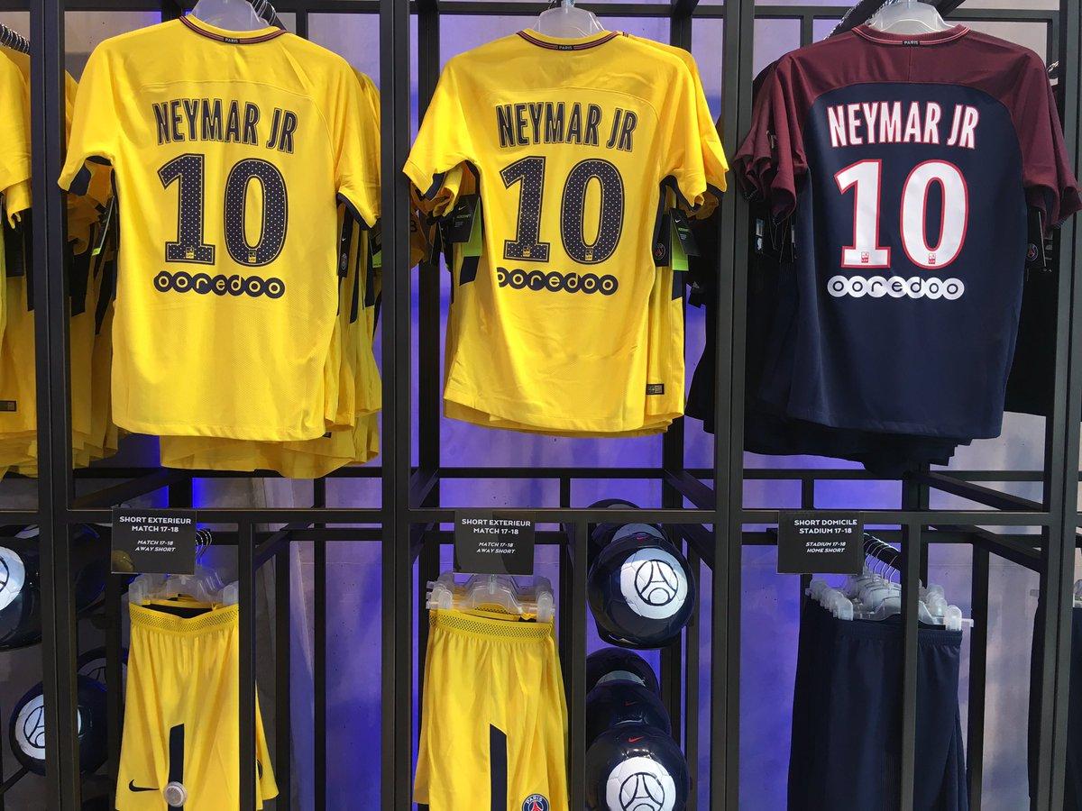 Neymar au PSG: