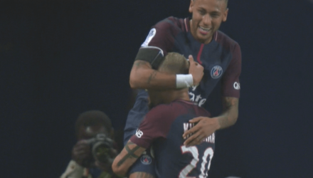 Neymar et Kurzawa