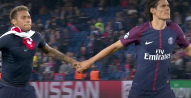 Cavani et Neymar