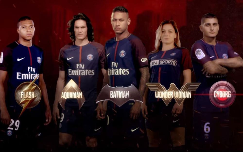 Le PSG en mode Justice League