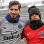 Kevin Trapp et Neymar