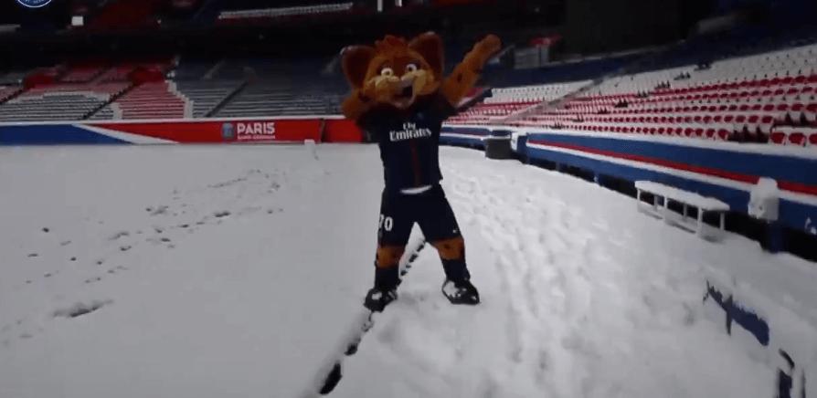Germain, la mascotte du PSG