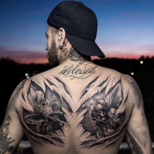 Neymar tatoué